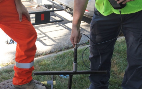 Image of Hamilton reduces water loss with a proactive leak detection program